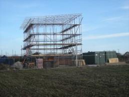 new dwelling at High Ongar oak frame