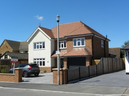 New detached dwelling in Chelmsford